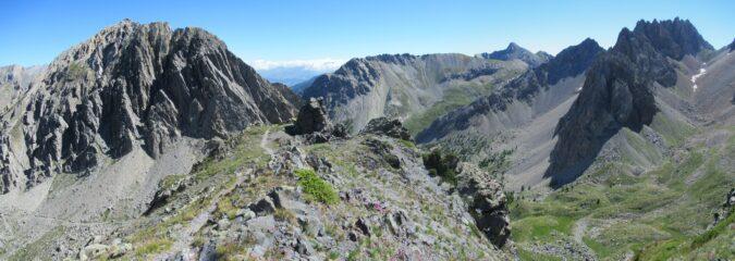 Gran panorama dal sentiero di cresta