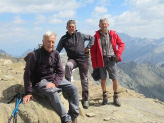 Con gli amici Giorgio e Pier Albino