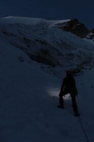 Sul ghiacciaio di Montandaynè
