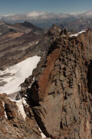 Guardando indietro sul primo tratto roccioso