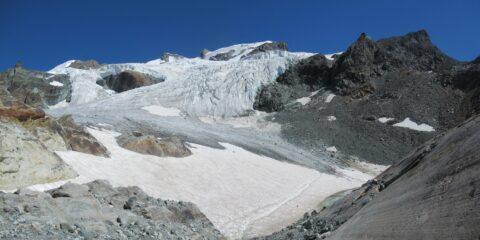 Attraversamento ghiacciao