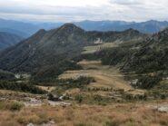 Mater e Margineta, Alpe Aggia e Alpe Cazzola viste dalla via di salita