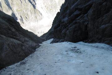 il canale di neve