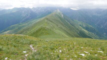 Il Passo della Garbella salendo al Pianard