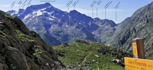 Panoramica  sul versante Nord del Monte Gelas