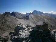 dal Caramantran verso punta d'Alp