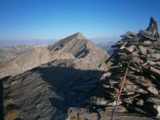 Sagnes Longues dalla cima Chamoussiere