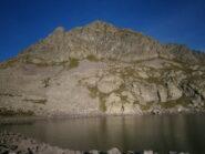 la cima vista dal lago inferiore
