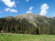 Pizzo Locciabella e Pizzo La Scheggia visti dall'Alpe Aggia