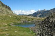 Secondo laghetto innominato nel vallone Gorgia dei Laghi