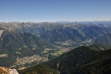 Valle Vigezzo vista dalla cima