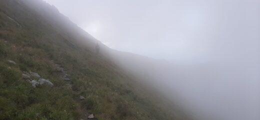 Nebbia verso Punta del Rous