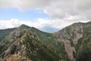 Ziccher e Bocchetta di S. Antonio dalla cima Nord-Est