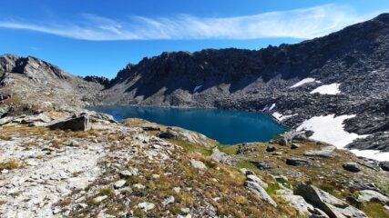 il lago di Pietrarossa