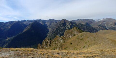 I valloni del Piz e di Pontebernardo dalla cima