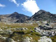 Dal Colle Ovest Punta e Testa di Barasson.