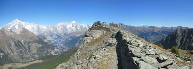 Punta della Croce quota m. 2476