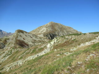 Monte Ventabren (m.2608) dal Colle Marchiana (m.2272).