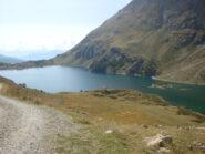 lago Cignana: piccolo mare in quota