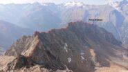 La cresta dalla Garin