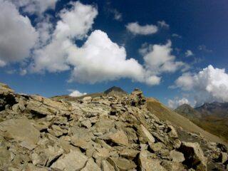 la cima vista dal colle Invergneux