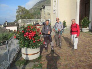 Chatillon  Parrocchiale di San Pietro la partenza