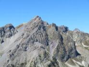 Vista sul Monte Cassorso, con l'Oronaye sullo sfondo