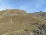 I monti Giordano e Bodoira, che chiudono la visuale a nord