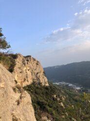 Il settore settentrionale della Rocca di Perti