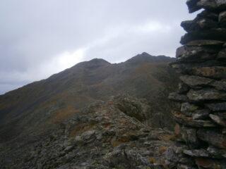 quota 2780 e rocca Negra da testa degli Spagnuoli