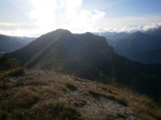 Cialancia e Rubbio dalla cima