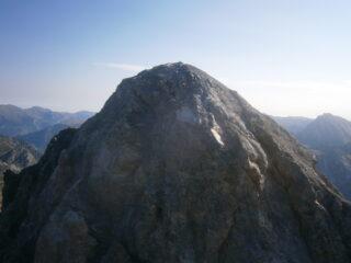 La cima alpinistica