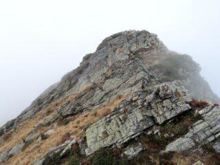 Una delle prominenze rocciose