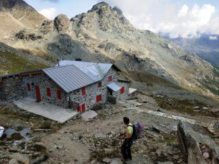 Al rifugio Carate Brianza.