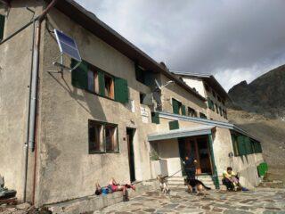 Al rifugio Marinelli.