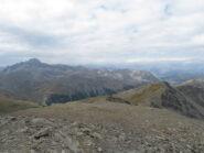 A sx il Rochebrune dalla cima