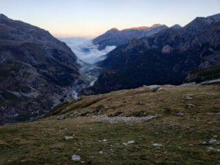 La Val d'Ala di sera