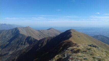 Angiolino, Uja di Corio e monte Soglio dalla Vaccarezza