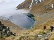 Scendendo al lago Brenguez