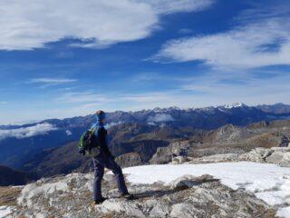 panorama dalla cima Palù
