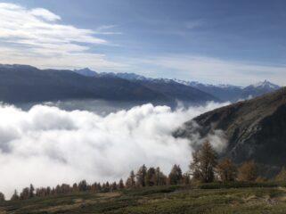 Salendo sopra le nubi