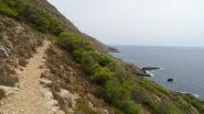 Si ritorna verso Marettimo lungo la costa.