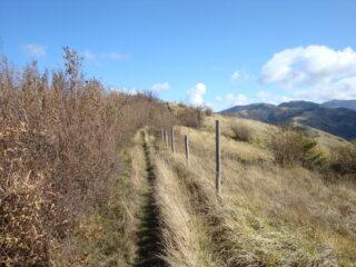 percorso di cresta