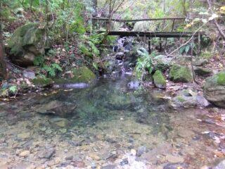 Ruscello e laghetto sopra Masone