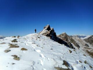 la panoramica dorsale verso il Rocciavrè