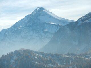 dalla cima: vista verso il Monte Chaberton