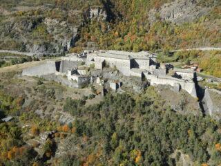 vista sul Forte di Exilles