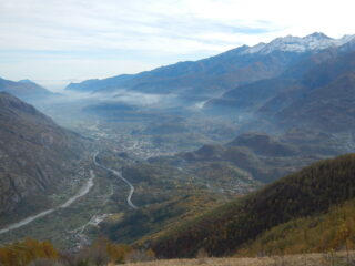vista sulla Bassa Valle di Susa