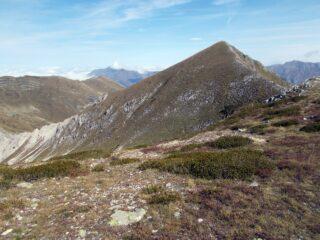 il Monte Ciamoussè  e la cresta