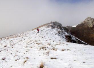 proseguendo verso il monte Grum